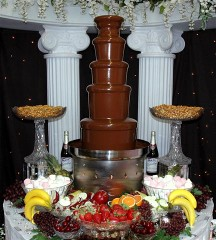 Affiliated Foods Chocolate Fountain chocolate fountains
