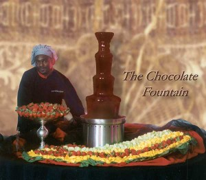 chocolate fountain cater catering caterer caterers chocolate fountain rental