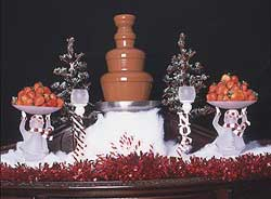 Chocolate Fountain Holiday Parties