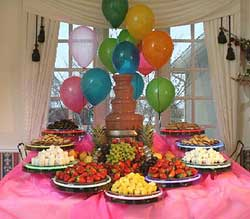 Special Events Displays Chocolate Fountain Rental Sales Chocolate