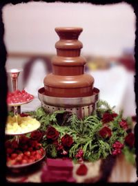 chocolate fountain special events caterer catering equipment