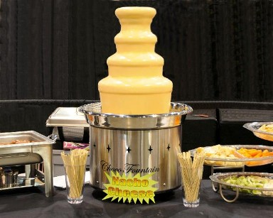 cheese fountain rental